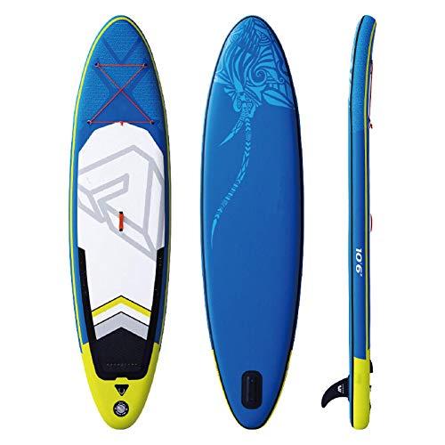 Zjcpow Tabla De Paddle Surf Sup Stand Up Paddle Board Sup Surfing Deportes Acuáticos Tabla Inflable 320x81x15cm Todos Los Niveles De Habilidad