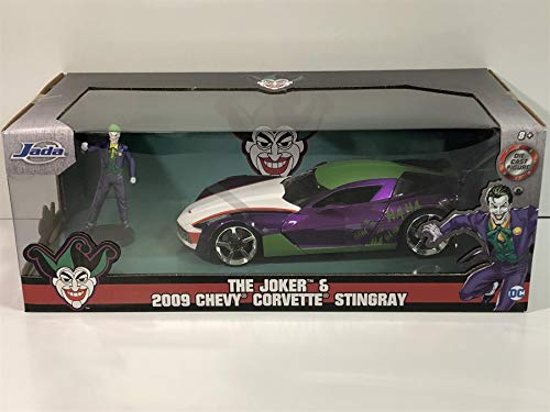 Jada Toys Hollywood Rides 1:24 Scale - '09 Stingray - Joker