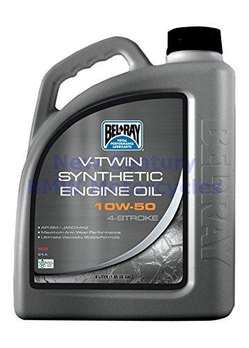 Öl Motorrad Bel Ray Vtwin Synthese 4T 10W50 4L