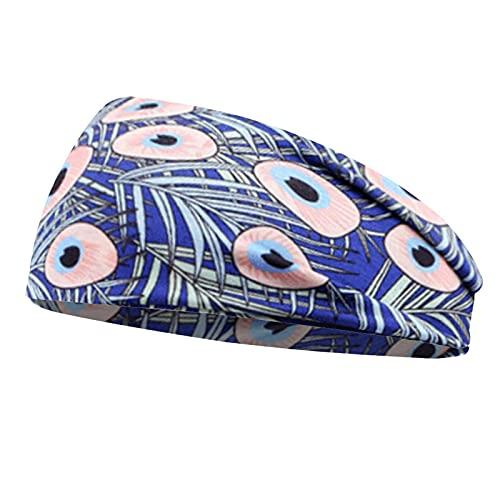 Bandas para el pelo para mujer y niña, diadema floral con turbante cruzado, bandanas, accesorios para el cabello, diadema, regalo marrón claro
