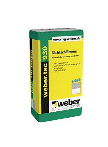 weber.tec 930 Dichtschlämme DS Mineralische Dichtschlämme 25 kg