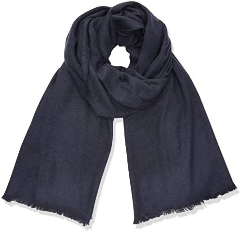 ONLY Damen ONLDIDDE Soft Woven Scarf Trilby, Blau (Night Sky Night Sky), (Herstellergröße: One Size)