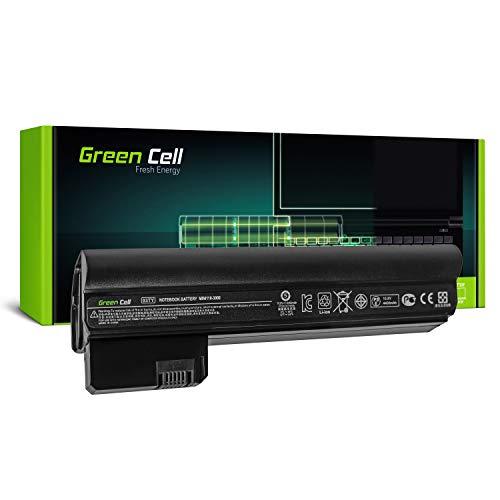Green Cell® Extended Serie 03TY 06TY HSTNN-DB1U Batería para HP Mini 110-3000 110-3100 / Compaq Mini CQ10-400 CQ10-500 Ordenador (6 Celdas 4400mAh 10.8V Negro)