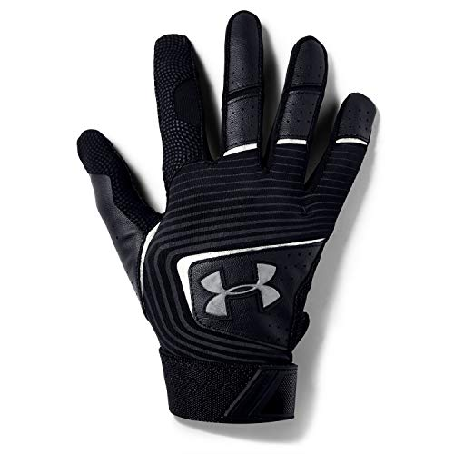 Under Armour Boys' Youth Clean Up 19 Baseball Gloves , Black (002)/Graphite , Youth Medium