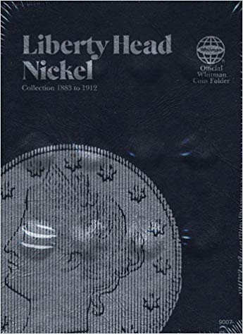 [0307090078] [9780307090072] Coin Folders Nickels: Liberty Head (Official Whitman Coin Folder) – Hardcover