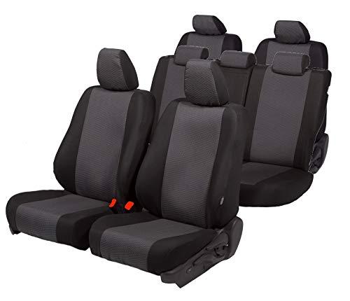 4D-Z4L-DV-VWCR-017-3M-OPC-80 3-Sitzer Fahrzeugspezifisch Polstermaterial Passgenaue Sitzbez/üge Hero ideal angepasst 1+2