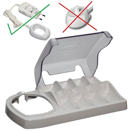 Braun Oral B-Triumph Aufbewahrungsbox Type 3731 für 4 Aufsätze + 20ml Meridol Zahncreme Probe