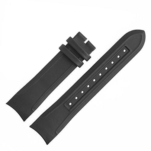 Hugo Boss Uhrenarmband 22mm Kunststoff Schwarz - 659302446