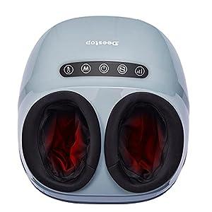 Deestop Shiatsu Foot Massager Machine Feet Massage with Heat Kneading Rolling for Home Office Use