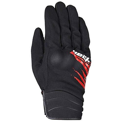 Furygan Cloud Handschuhe für Herren XS Schwarz/Rot