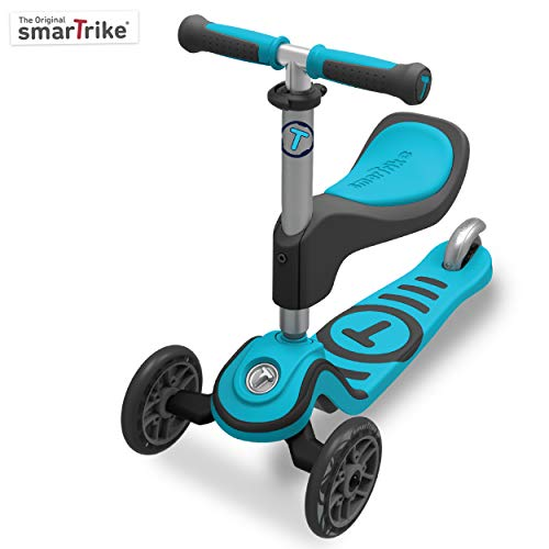 Scooter by smarTrike 202-0100 - Kinderscooter, blau