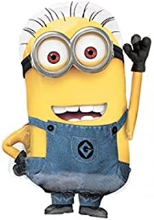 Character Despicable Me 'Super Shape Minion' 25inch Balloon Foil Party Accessories