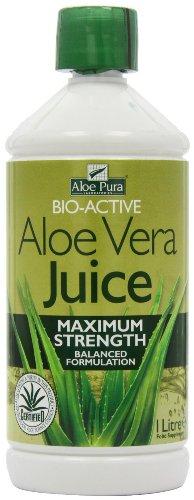 Aloe Pura Aloe Vera Juice Maximum Strength 1 Litre x 3 Bottles