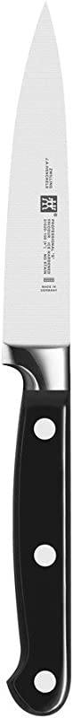 ZWILLING J A Henckels 31020 103 Professional S Paring Knife 4 Inch Black Stainless Steel