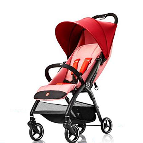 Fantastic Prices! Folding Luxury Baby Stroller Travel System with Anti-Shock Springs Newborn Pushcha...