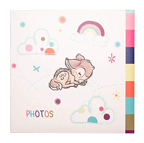 Grupo Erik AF200101511 Álbum de Fotos Disney, Blanco Bambi, 21,5 x 22,3 x 5,2 cm