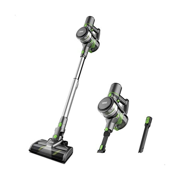 TOPPIN Stick Vacuum Cleaner Cordless – Tangle-Free 6 in 1 Powerful 12Kpa Suction...