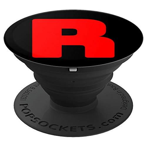 R Team Rocket Gruppen-Kostüm Karneval Partner-Outfit - PopSockets Ausziehbarer Sockel und Griff für Smartphones und Tablets