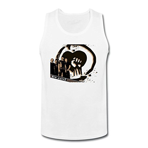 Herren's Rise Against Band Logo Tank Top Small