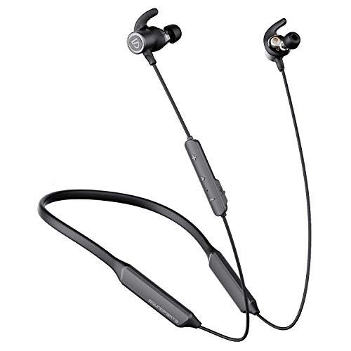 SOUNDPEATS Force Pro Dual Dynamic Drivers Bluetooth Headphones, Neckband Wireless Earbuds...