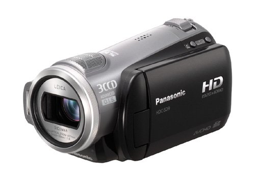 Panasonic HDC-SD 9 EG-S High Definition-Camcorder (AVCHD) silber