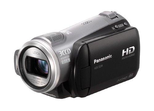 Panasonic HDC-SD 9 EG-S High Definition-Camcorder (AVCHD) silber
