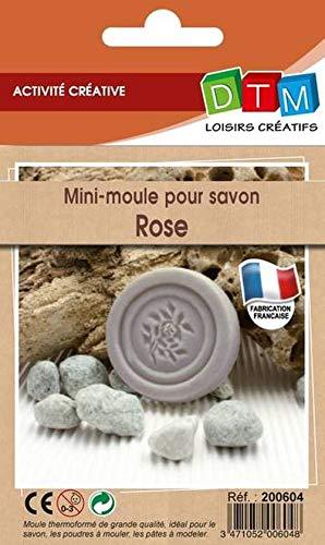 Moule pour Savon Mini Motif Rose - Graine créative