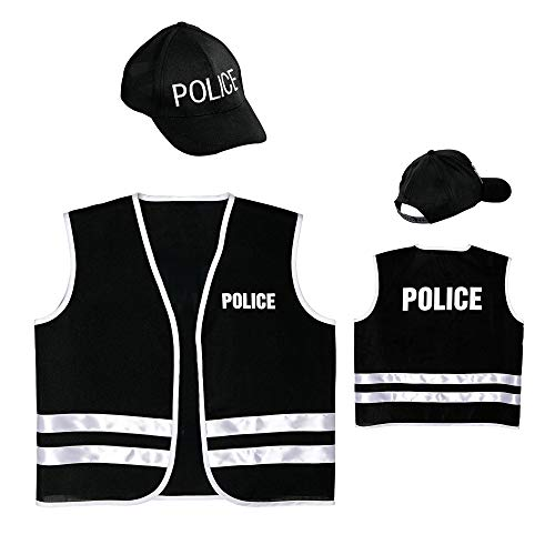 Widmann - Kinderkostümset Polizei