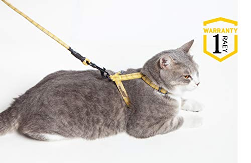 Touchdog TOUCHCAT Harnais réglable et laisse pour chat...
