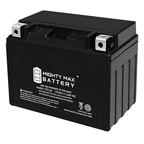Mighty Max Battery YTZ12S 12V 11AH Battery for Honda 750 VT750C, Shadow Spirit Aero 07-09 Brand Product