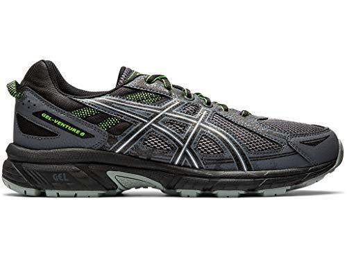 Asics - Gel-Venture 6 - Zapatillas deportivas de hombre para correr, Gris (Metropolis/Negro), 43.5 EU
