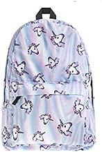 أكسفورد الفضاء يونيكورن ظهره نمط المرأة حقيبة مدرسية للمراهقات على ظهره