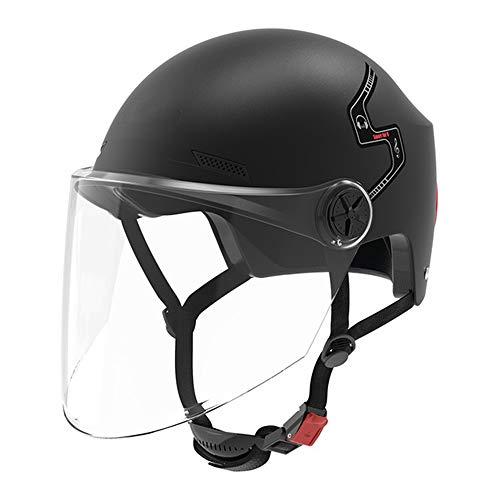 Helm ZWRY Waterdichte slimme fietshelm Verwijderbaar masker Bluetooth-luidspreker Usb opladen