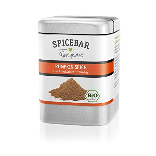 Spicebar | Pumpkin Spice | Kürbisgewürz | Perfekt für Kürbisgerichte, Pumpkin Spice Latte | 80g