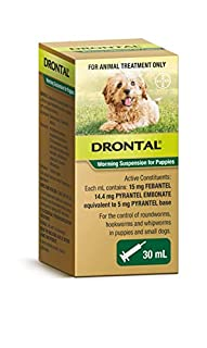 Drontal Puppy Oral Suspension, 30ml (B07GD95C71) | Amazon price tracker / tracking, Amazon price history charts, Amazon price watches, Amazon price drop alerts