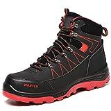 PAQOZKC Botas de Seguridad para Invierno Zapatos de Seguridad para Hombre con Puntera de Acero...