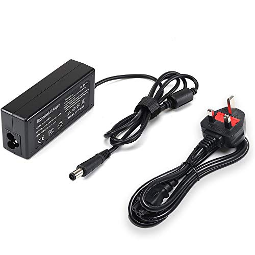 18.5V 3.5A 65W AC Adapter Laptop Charger for HP Pavilion DV4 DV5 DV6 DV7 Series/Pavilion G4 G6 G7 Series/Elitebook 8470p 8460p 840-G1 840-G2 / HP 2000 Series Power Cord Supply