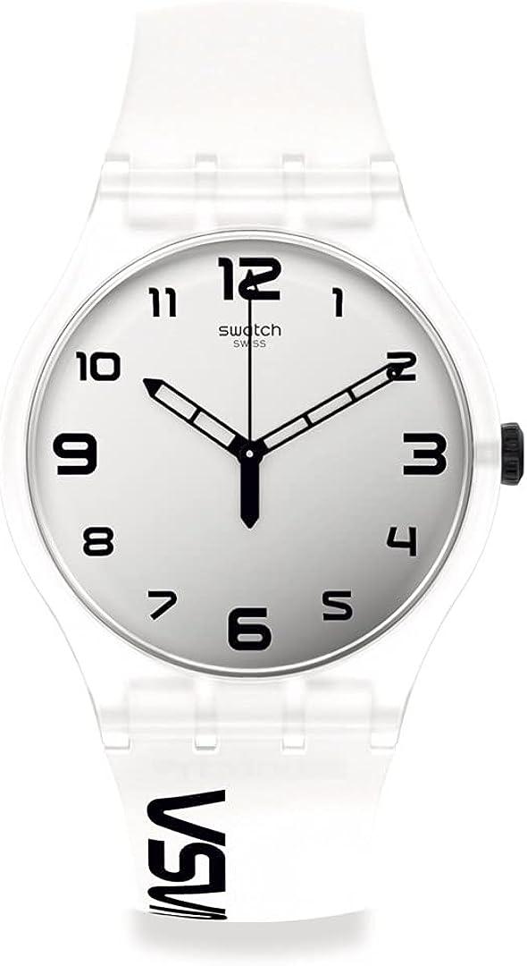 Reloj Swatch New Gent SUOZ339 Space Race Edición Especial NASA