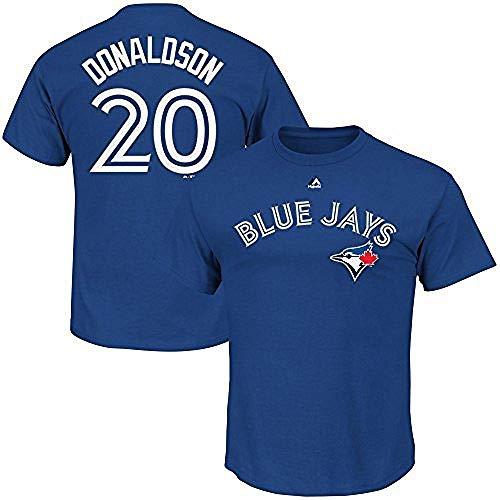 Josh Donaldson Toronto Blue Jays MLB Majestic Youth Blue Alternate Cool Base Replica Jersey (Youth Large 14-16)
