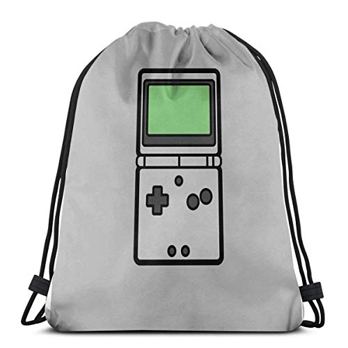 AOOEDM Gameboy Advance Sp Sport Sackpack Sac à dos avec cordon de serrage Sac de sport