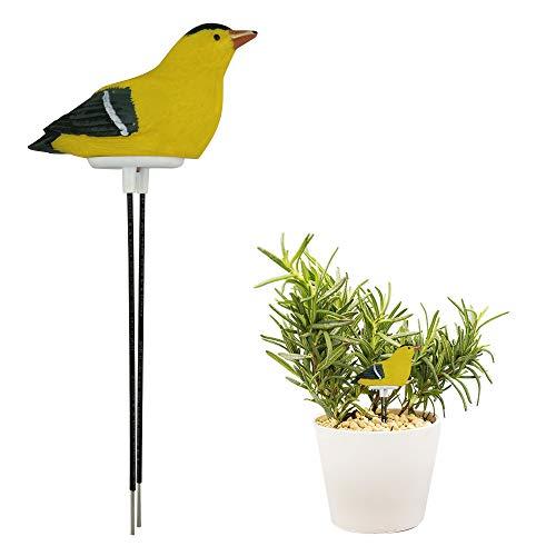 ShangSky Harz-Vogel-Boden-Feuchtigkeitsmesser, Betriebsboden-Feuchtigkeits-Prüfvorrichtung für Hauptbonsai-Garten-Bewässerungs-Anzeige