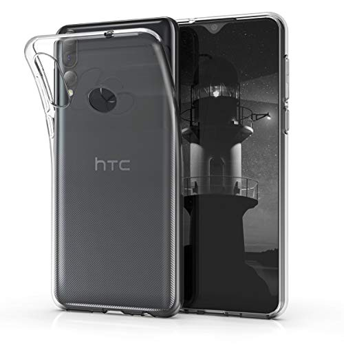 kwmobile Hülle kompatibel mit HTC Desire 19+ / 19s - Hülle Handy - Handyhülle in Transparent