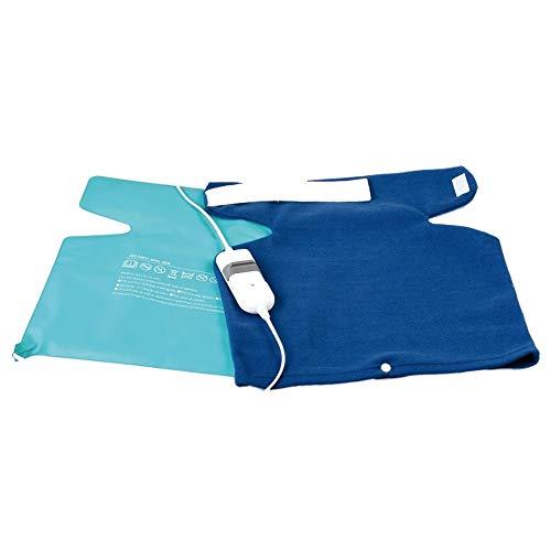 Manta Electrica Ergonomica para Hombros y Cuello Calor Descontracturante Musculacion Fisioterapia Recuperacion Klack