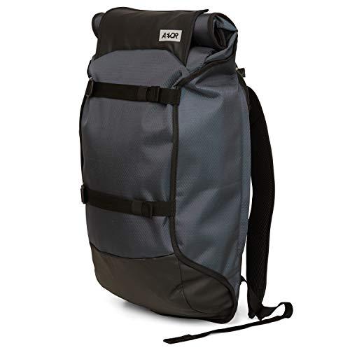 AEVOR Trip Pack - wasserfester Rucksack, erweiterbar, ergonomisch, Laptopfach - Proof Petrol - Petrol