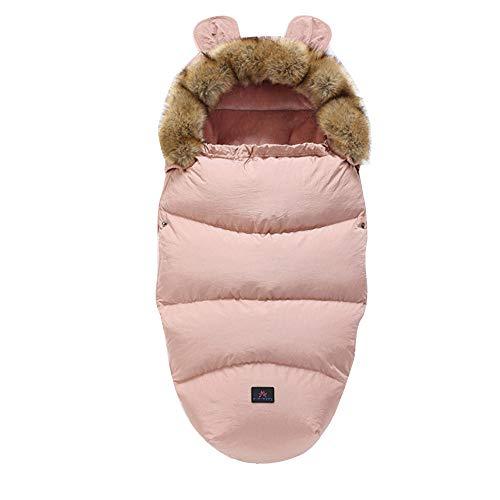 Fikujap Manta de bebé Seguridad con los pies - Invierno - Manta Alineada para los portabebés/Asientos de Coches y sillas de Paseo, con Capucha,11