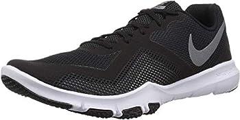 Nike Men s Flex Control II Cross Trainer Black/Metallic Cool Grey-Cool Grey-White 7.5 4E US