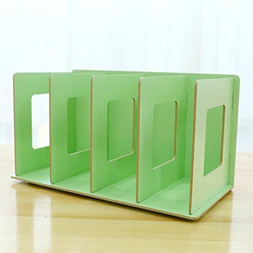 HYLR Creative étagères étagères en Bois de Bureau, casier à tiroirs étagère de fichier en Bois Massif bibliothèque Bureau Chambre Rangement Multicolore étagère Arbre Étagère