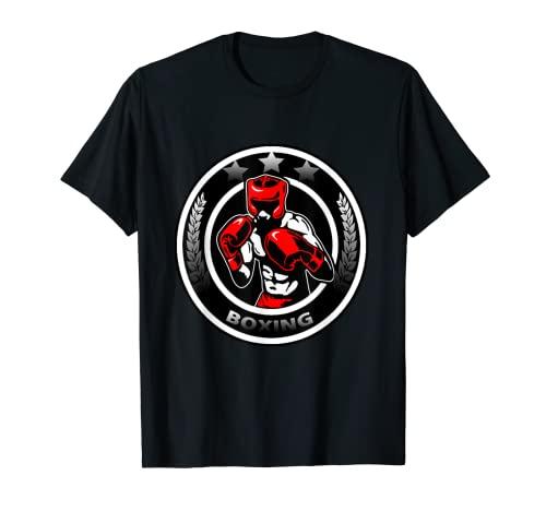 Boxeo Combatiente Camiseta