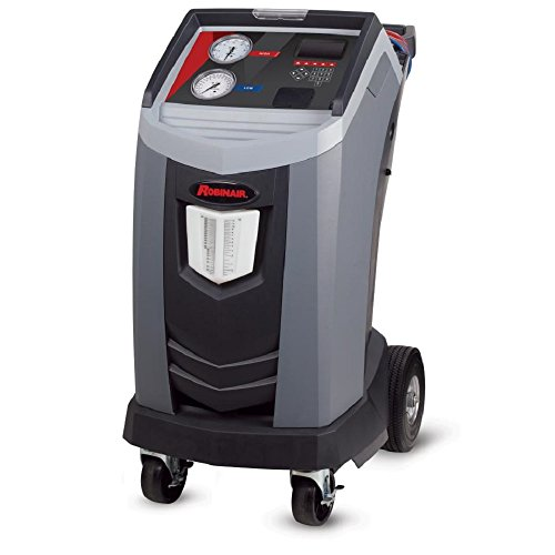 Robinair 34788NI Premier R-134A Refrigerant Recovery, Recycling and Recharging Machine, Gray