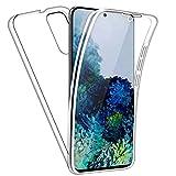NewTop Cover Compatibile per Samsung Galaxy S10 Lite/Note 10 Lite, Custodia Crystal Case TPU Silicone Gel PC Protezione 360° Fronte Retro (per S10 Lite)